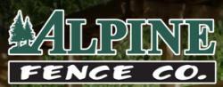 Alpine Fence Co. logo