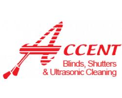 Accent Blinds & Shutters, LLC logo