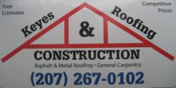 Keyes Roofing & Construction logo