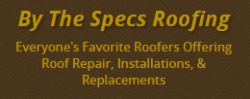 By The Specs Roofing & Consulting logo