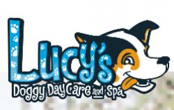 Lucys Dog Day Care & Spa logo