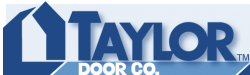 Taylor Door Co. logo