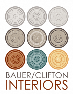 BAUER/CLIFTON INTERIORS logo