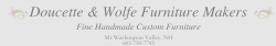 Doucette and Wolfe Furniture Makers logo