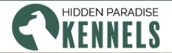 Hidden Paradise Pet Kennel logo