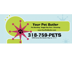 Your Pet Butler Hotel & Spa for the Modern Paw logo