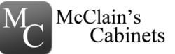 McClain's Custom Cabinets, LLC logo