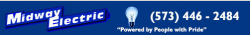 Midway Electric Inc. logo