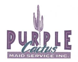 Purple Cactus Maid Service Inc logo