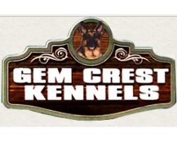 Gem Crest Kennels logo