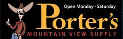 Riverton Porter's Mountain View Supply logo