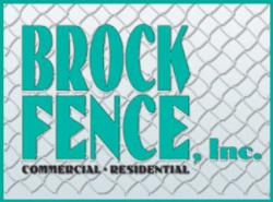 Brock Fence INC. logo