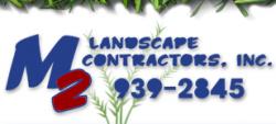 M2 Landscape Contractors logo