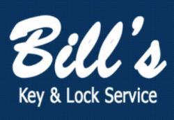 Bill's Key and Lock Service logo