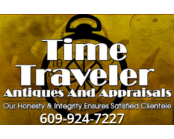 Time Traveler Antiques And Appraisals logo