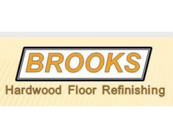 brooks hardwood floor refinishing logo