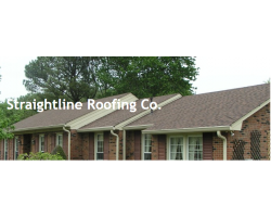 Straightline Roofing Co logo
