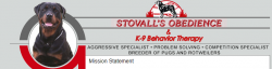 Stovall's Obedience logo