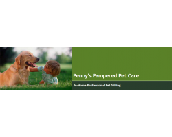 Penny's Pampered Pet Care logo