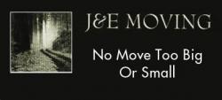 J & E Moving logo