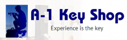 A-1 Key Shop logo