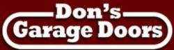 Don's Garage Doors  logo