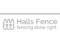 Halls Fence logo