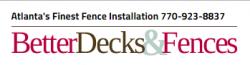 Better Decks & Fences logo