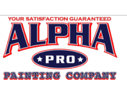 Alpha Pro Painting Co. logo