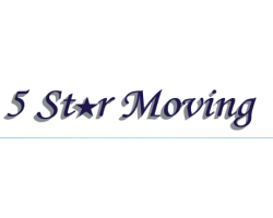 5 Star Moving, Inc. logo