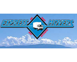 A Express Movers logo
