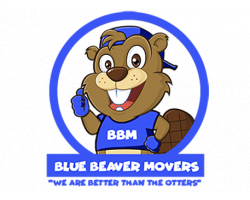 Blue Beaver Movers logo