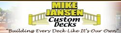 Mike Jansen Custom Cedar Decks logo