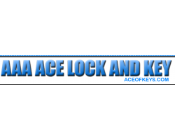 A AA Ace Lock & Key logo