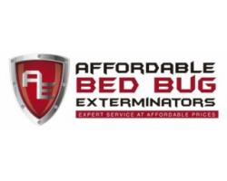 Affordable Bed Bug Exterminators logo