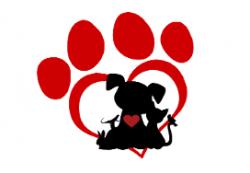 Paws & Kisses logo