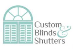 Custom Blinds & Shutters logo