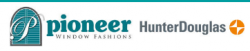 Pioneer Window Fashions logo