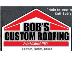 Bob's Custom Roofing logo