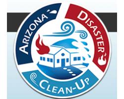 Arizona Disaster Cleanup logo