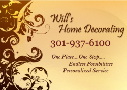 Will's Home Decorating logo