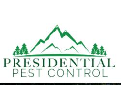 A Presidential Pest Control logo