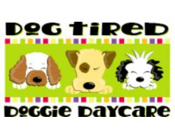 Dog Tired Doggie Day Care logo