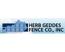 Herb Geddes Fence Company Inc. logo