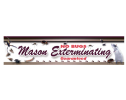 Mason Exterminating logo