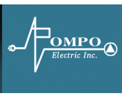 A Pompo Electric Inc. logo