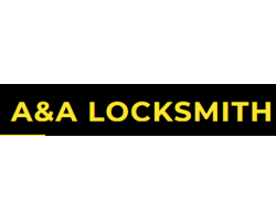 A & A Locksmith logo