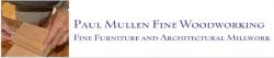 Paul Mullen Fine Woodworking logo