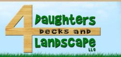 4 Daughters Deck & Landscape logo