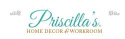 Priscilla's Home Decor logo